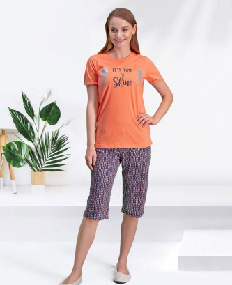 Pyjama arnetta - Orange