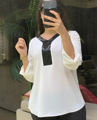 Tunique lafaba - Blanc