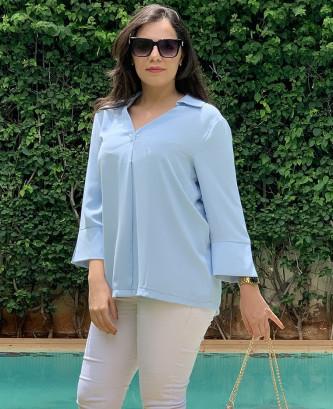 Tunique lafaba - Bleu ciel