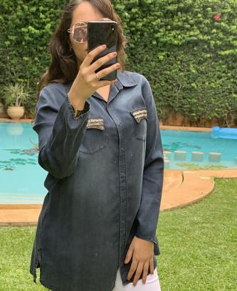 Chemise femina - Bleu