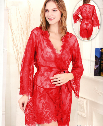 Ensemble 2pcs silvia - Rouge
