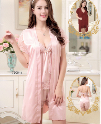 Ensemble 3pcs silvia - Rose
