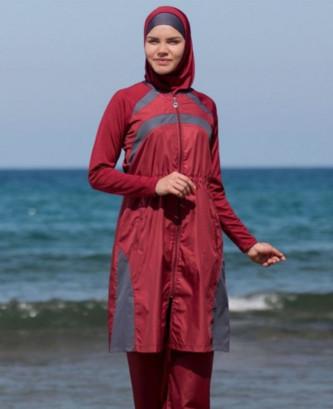 Maillot De Bain Hijjab -...