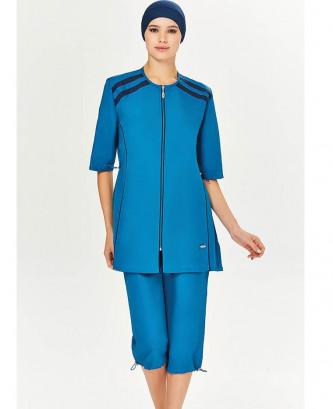 Maillot De Bain Hijjab - Bleu