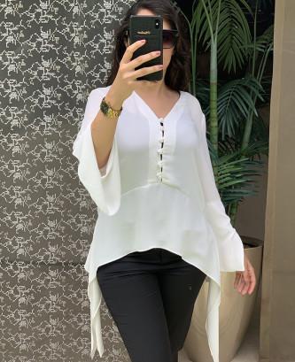 Tunique perie - Blanc