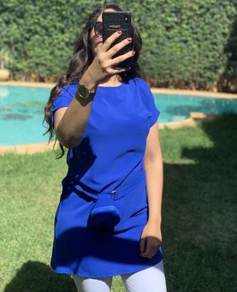 tunique - Bleu roi