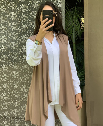 Gilet Pitch - Taupe
