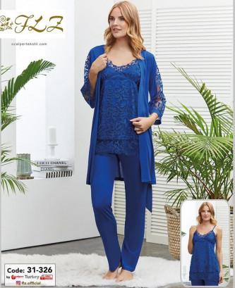 Pyjama flz - Bleu roi