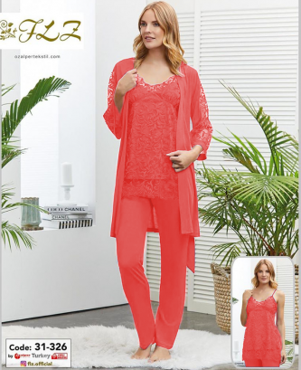 Pyjama flz - corail