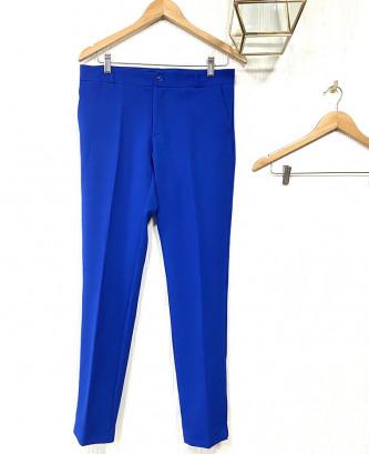 Pantalon Classique - Bleu roi