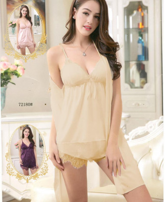 Ensemble 3pcs silvia - Beige