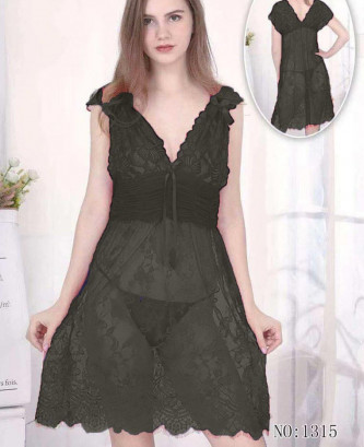 Ensemble 2pcs silvia - Noir