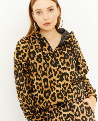 Sweatshirt Femme motif Léopard
