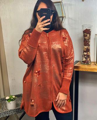 Veste Ayda - Orange
