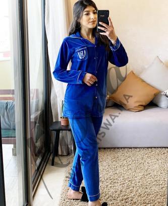 Pyjama 2pcs - Bleu roi