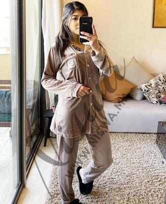 Pyjama 2pcs - Taupe