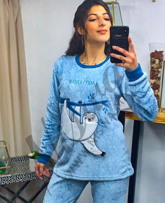 Pyjama Miss rose - bleu...