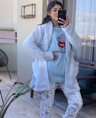Pyjama 3pcs - Bleu ciel