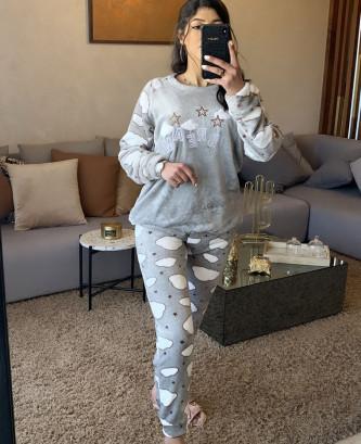 Pyjama 2 pieces - Gris