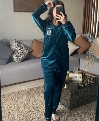 Pyjama 2pcs - Vert canard