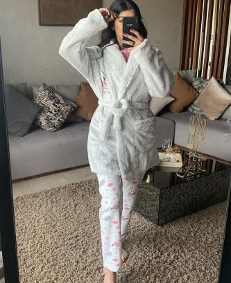 Pyjama 3pcs - Fushia