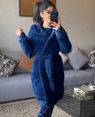 Pyjama 3Pieces - Bleu marine