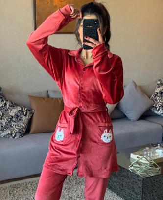 Pyjama 2Pieces - Bordeaux