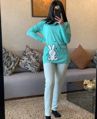Pyjama MR - Bleu ciel