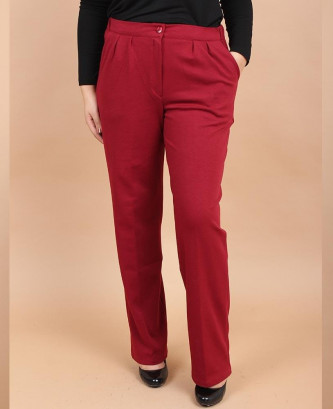 PANTALON VERDA - Bordeaux