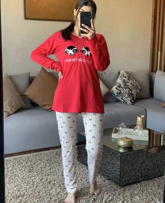 Pyjama MR - Rouge