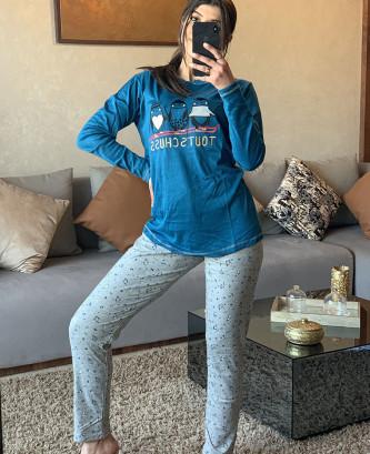 Pyjama MR - Bleu