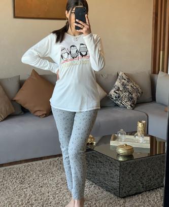 Pyjama MR - Blanc