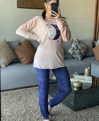 Pyjama 2Pieces - Saumon