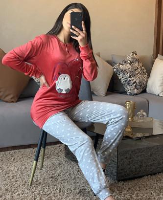 Pyjama 2Pieces - Rouge