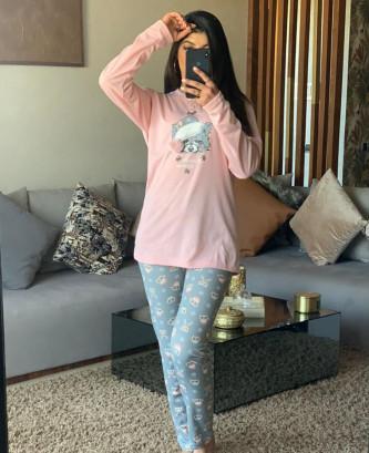 Pyjama VT - Rose