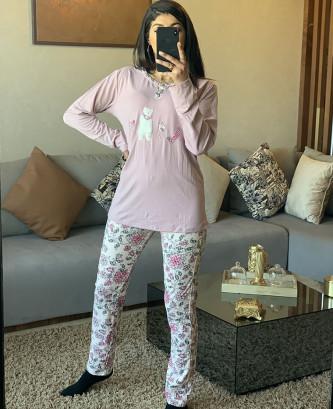 Pyjama MR - mauve clair