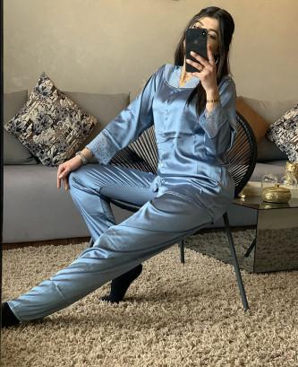 Pyjama TSS - bleu pétrole