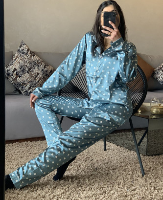 Pyjama TSS - Bleu ciel