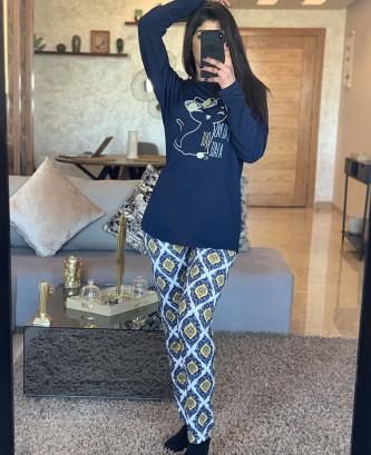 Pyjama MR - Bleu marine