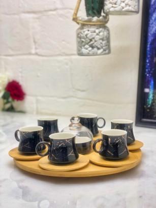 Set service à café marbre...