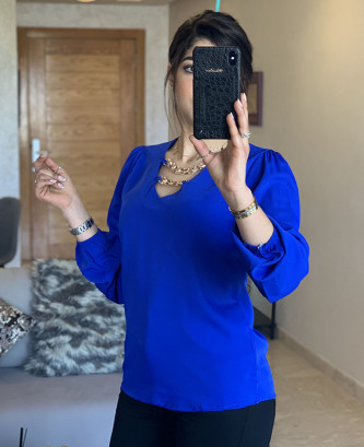 Tunique CRL - Bleu roi