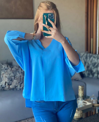 Tunique CHS - Bleu ciel