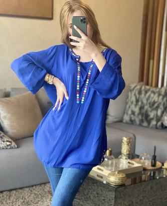 Tunique AX - Bleu roi