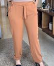 Pantalon en crepe de soie