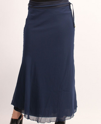 JUPE FEMINAxl - Bleu marine
