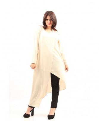 Robe Femina - Beige