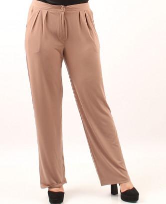 Pantalon femina xl - Taupe