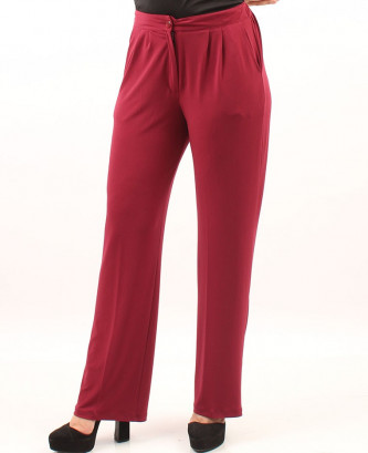 Pantalon femina xl - Bordeaux