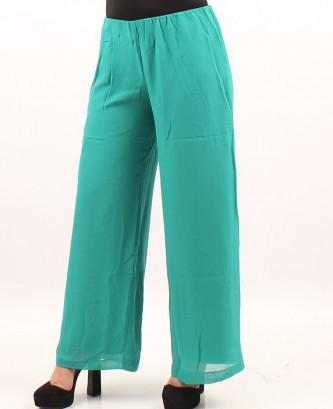 Pantalon femina xl - Vert eau