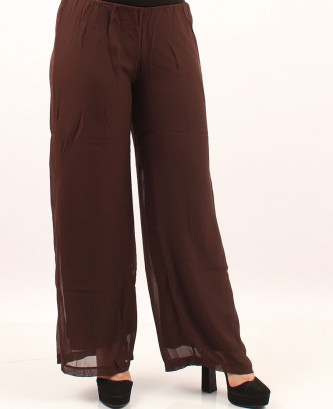 Pantalon femina xl - Marron